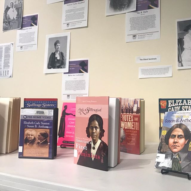 Check Out The Suffrage Centennial Display At My Local Library 19thamendment Womenshistory Ask A Suffragist 8030 south 1825 west, west jordan, ut 84088. ask a suffragist